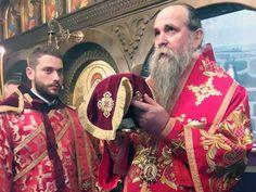 Његово Преосвештенство Епископ будимљанско-никшићки и администратор милешевски г. Јоаникије служио је, на празник Светог Германа Аљаског ...
