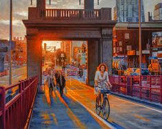 Realist oil NYC paintings and artist's new series with nature and botanicals Nyc, Studio, Canvas, Nature, Artist, Gold, Painting, Tela, Naturaleza