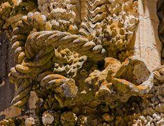 Convento de Cristo: stone cordage