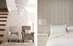 Laura Ashley Nightingale + Cottonwood wallpapers