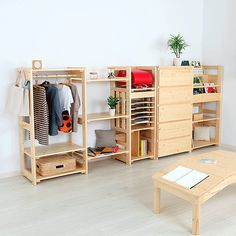 Natural tree jokes the cute children's room of the Nico … - Educational Toy Ideas Baby Room Design, Home Room Design, Montessori Toddler Rooms, Kids Bedroom, Bedroom Decor, Kids Wardrobe, Aesthetic Room Decor, House Rooms, Kids Furniture