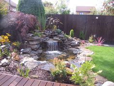 This Beautiful water features can transform your garden and make you feel like in heaven #Water features #dreamgarden #Landscapes # garden #Ideas You can find more information about this project on out website: http://www.abellandscapes.co.uk/water-features-liverpool