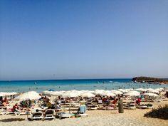 Nissi Beach, Ayia Napa, Cypr/Cyprus