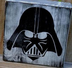 Darth Vader Painted On Old Crate! Photography Decor Star Wars Saga Movies Art Decor Pictures Spray Paint Retro  findhdwallpapers.com