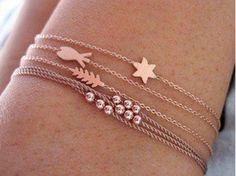Delicadeza #rosegold #bracelets