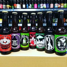 New Beers. 7 new beers from @madhatterbeers in stock now. Brings our total to 27 varieties from this brewery