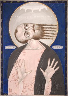 Icon of the conversion of Saint Paul