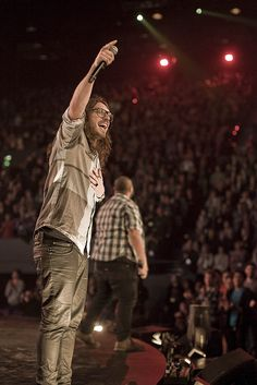 Hey J. Douglas of Hillsong....one of the funniest people to watch on stage