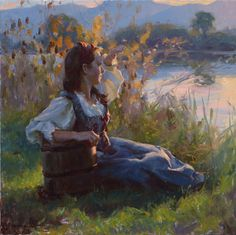 Michael Malm A New Beginning Malm, Salt Lake City, Painting Inspiration, Art Inspo, Art With Meaning, Figure Painting, Aesthetic Art, Figurative Art, Traditional Art