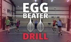'Egg beater' passing and conditioning drill - Volleyball - Volleyball Passing Drills, Volleyball Skills, Volleyball Practice, Volleyball Games, Volleyball Training, Volleyball Workouts, Basketball Skills, Coaching Volleyball, Volleyball Pictures