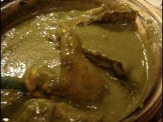 Receta Mole Verde con Pollo