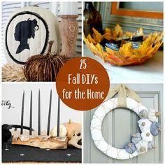 25 Fall DIYs for the Home