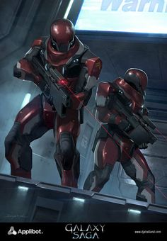 Galaxy Saga (applibot) Galactic empire soldier by djahal on DeviantArt