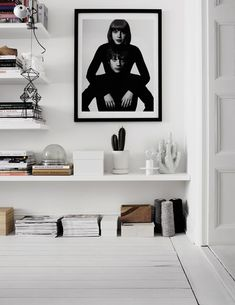 therese sennerholt home #bookshelves #magazines #decoration