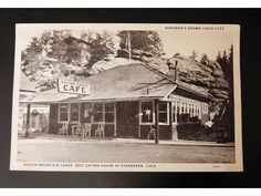 Brown Cabin Cafe Also Know As The Old Crafters Building Evergreen Colorado