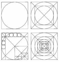 12-38 12-38 - These diagrams illustrate Dutch architect J. L. M. Lauweriks's compositional theory elaborating grid systems from a square circumscribed around a circle.