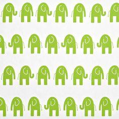 Premier Prints Ele White/Chartreuse Fabric, for pillows or framed as art Nursery Fabric, Nursery Prints, Elephant Fabric, Christmas Feeling, Happy Design, Premier Prints, Drapery Fabric, Curtains, Fabulous Fabrics