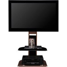"""Altra Galaxy TV Stand with Mount for TVs up to 50"""", Multiple Finishes - Walmart.com"""