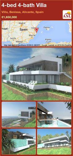 4-bed 4-bath Villa in Villa, Benissa, Alicante, Spain ►€1,650,000 #PropertyForSaleInSpain