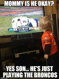 Denver vs. Chargers LOL.......