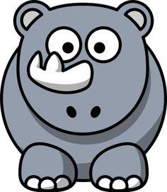 Cartoon rhino by Cartoon rhino. Remixed from Lemmling's Cartoon Elephant and Cartoon Goat. Funny Cartoon Pictures, Cartoon Photo, Free Clipart Images, Art Clipart, Rhino Pictures, Baby Rhino, Animal Doodles, Cartoon Elephant, Baby Clip Art