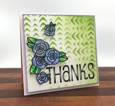 Day 20. Tie-Dye Flowers from SRM stickers