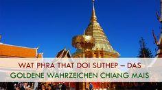 Wat Phra That Doi Suthep – Das goldene Wahrzeichen Chiang Mais Der Wat Phra That Doi Suthep ist mit Abstand der bekannteste und beliebteste Tempel in Chiang Mai. Nicht nur bei Touristen aus aller Welt, sondern auch bei sehr vielen Einheimischen. Obwohl während der Hauptsaison auf der Tempelanlage ziemlich viel los ist, solltet ihr euch das Heiligtum bei einem Chiang Mai Besuch auf keinen Fall entgehen+ Lesen Sie mehr Der Beitrag Wat Phra That Doi Suthep – Das goldene Wahrzeichen Chiang Mais…