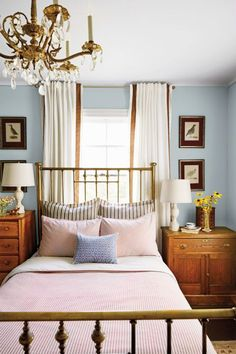 Vintage Furniture Trends That Should Have Never Gone Out of Style: Brass Furniture.  Antique brass furniture, like beds, bring a luxe quality to homes that we'd love to see again. Julie Holloway of Milk and Honey Home says aged brass is one of the elements she remembers from her grandma's house—and misses from modern homes.