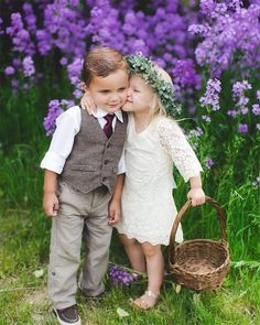 39 Lovely Photos Of Ring Bearer Wedding Forward is part of Wedding with kids - We are quite fond of seeing children at weddings The smaller the better You will get some really adorable pictures with ring bearer and flower girl! Flower Girls, Flower Girl Dresses, Flower Girl Pictures, Wedding With Kids, Wedding Pictures, Trendy Wedding, Dream Wedding, Wedding Day, Wedding Ceremony