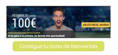 Bwin y su famoso bono de bienvenida de 100 € para todos sus seguidores