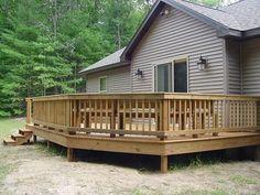 ... railings have individual edges