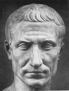 JULIUS CAESAR: Roman general and statesman, he made the triumvirate with Pompey and became consul.