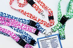 Cancer Awareness Lanyard