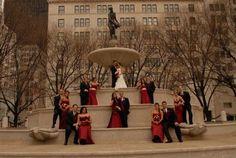 large group photo #wedding