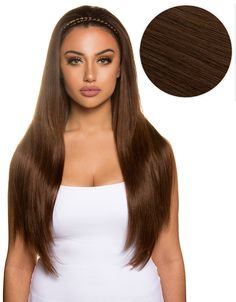 Bambina 160g 20 chocolate brown hair extensions 4 brown khaleesi 280g 20 chocolate brown 4 hair extensions pmusecretfo Images