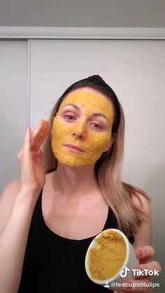 Skin Mask, Face Skin, Clear Skin Face Mask, Face Face, Homemade Face Masks, Diy Face Mask, Glowing Face Mask, Diy Beauty Face Mask, Acne Face Mask