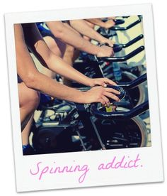 Indoor Cycling ♥. Love it. need it. want it.