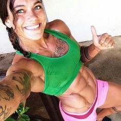 From our Selfies Gallery @ www.OnlyRippedGirls.com #fitgirls #gymgirls #fitness #workout #health