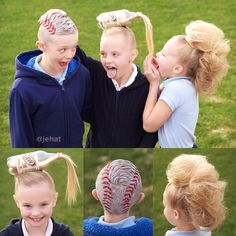 jehat hair — My crazy kids for crazy hair day at school! Hallie...