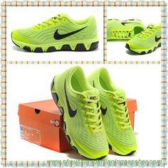 best website 0ea25 47110 meilleure chaussure de running Electric Jaune   Noir 2015 Nike Air Max  Tailwind 6 621225-701 Hommes