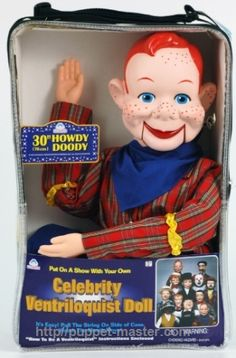 Original Howdy Doody Ventriloquist Dummy for SALE (basic upgrade) Get the best deal now > http://puppet-master.com/howdy-doody-doll-sale/  #howdydoody #ventriloquist #ventriloquist #puppet #doll #dummy