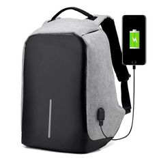 9ba370784baf Multifunction USB charging Men Laptop Backpacks For Teenager Fashion Male  Mochila Leisure Travel backpack anti thief