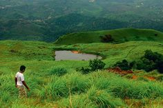 The trail up to Wayanad's Chembra Peak