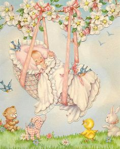 rock a bye baby - baby congratulations by in pastel, via Flickr