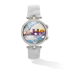 Lady Arpels Poetic Wish Watch,-carousel-VCARO3WL00-Van Cleef & Arpels