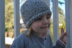 Cappelli di lana per bambini ai ferri - Berretto semplice