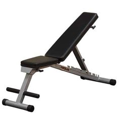 Body Solid Powerline Flat Folding Home Gym Workout Multi-Bench Press, Gray Adjustable Weight Bench, Adjustable Weights, Strength Training Equipment, No Equipment Workout, Fitness Equipment, Gym Fitness, Sports Equipment, Workout Gear, Fitness Tips