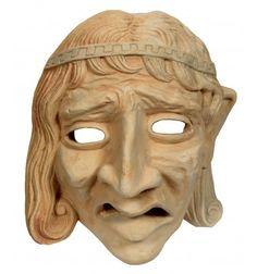 Tragedy sculptured mask made by plaster moldano Tragedy Mask, Mask Making, Buddha, Lion Sculpture, Statue, Art, Art Background, Kunst, Performing Arts