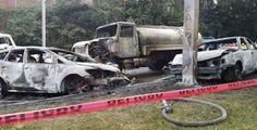 #Oaxaca #Noticias #Nacionales: Pipa provoca incendio en Lázaro Cárdenas, Michoacá...
