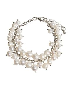 a touch of elegance Mother Day Wishes, Mother Day Gifts, Freshwater Pearl Bracelet, Pearl Necklace, Fresh Water, Mothers, Elegant, Bracelets, Water Pearls